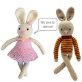 Baadir Bunny  & Tina - from the Red George cuddle crew