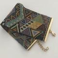 Gypsy Diagonals - hand woven beaded cuff