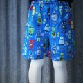 """Robots""- Kids Novelty Shorts"