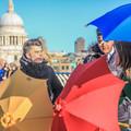 Haasch Yellow Supabrella  - ethical, plastic free, fair-trade, ecoumbrella
