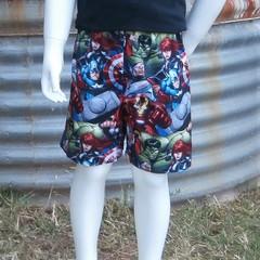 """Avengers""- Kids Novelty Shorts"