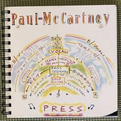 Paul McCartney  45 Notebook