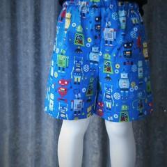 """""""Robots""""- Kids Novelty Shorts"""