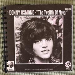 Donny Osmond 45 Notebook