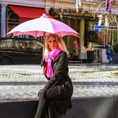 Pink Supabrella - Plastic free, fair trade and eco umbrella