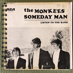 The Monkees 45 Notebook