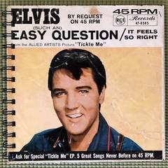 Elvis Presley  45 Notebook