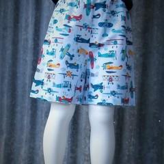 """Retro Airplanes""- Kids Novelty Shorts"