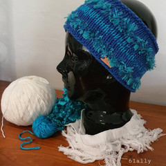 Cotton headband ear-warmer and/or sweatband