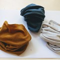 100% Merino DOUBLE THICK headband, neck sock, ear warmer