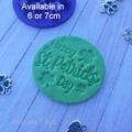 Saint Patricks day cookie / fondant embosser