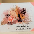 Mother's Day Card - Handmade Elegant Card Perfume and Shoes - Happy Mother's Day