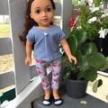 Dolls Clothes Leggings/TShirt Gumblossom 45cm/18inch doll
