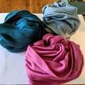100% Merino DOUBLE LOOP infinity scarf.