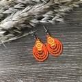 'CHANDY'  Beaded earrings