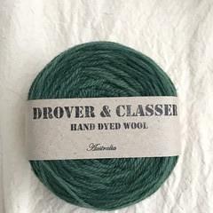'Forest' 5ply hand dyed superfine merino yarn