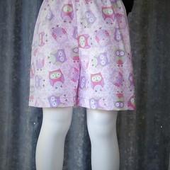 """Owls""- Kids Novelty Shorts"