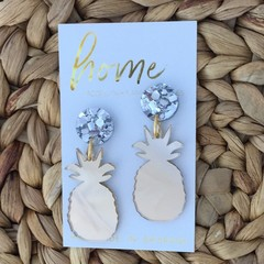Shiny Pineys Pineapple Dangles | Mother's Day | Unique | Gift for women |