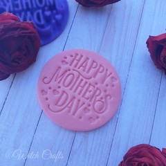 mothers day day cookie / fondant embosser