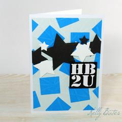 Happy Bithday to You, HB2U, Teen Boy Birthday Card
