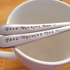 Good morning Mum, Good morning Dad, Gift Set, Father's day, Christmas Gift