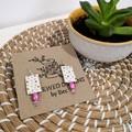 Polka Dot Dangle Earrings