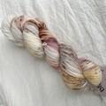 4ply handdyed Australian merino/nylon sock  390m 100g (petal)