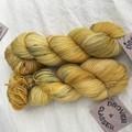 4ply handdyed Australian merino/nylon sock  390m 100g (billy button)