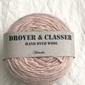 'Peaches' 5ply hand dyed superfine merino yarn