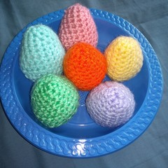 Easter Eggs - Crochet
