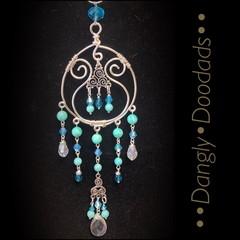 Triskele Glass & Stone Suncatchers (3 available)