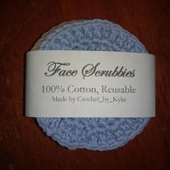 Face Scrubbies - 100% cotton
