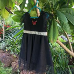 Little Black Sparkle Dress Size 4-5