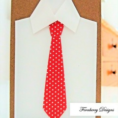 Handmade Card - Birthday or Any Occasion - Men's Shirt and Tie Card