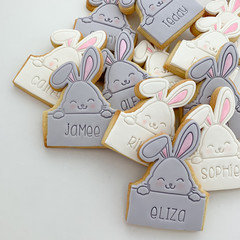 Happy Easter to You - personalised name bunny