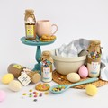 """EASTER """"Friend"""" Hot Chocolate Drink Mix in a bottle. Makes 2 decadent mugs"""