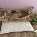 Natural Seagrass Basket / Hamper Oblong