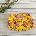 Floral Pucker Shorts, Size 000 00 or 0 Baby Girls Bloomers