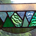 Mountain Views - Stained Glass Sun Catcher
