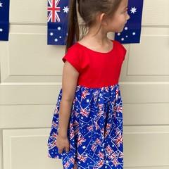 Girls Australia Dress - READY MADE - FREE SHIPPING!