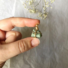 Emerald pendant - Gold