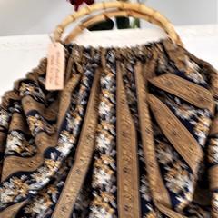 Vintage Look Bag Just Like Grandma Reproduction Fabric POST FREE