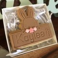Easter Bunny Personalised Plaque 1 Pack