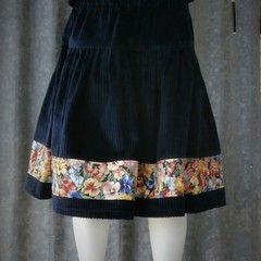 Retro Winter Girls Skirt
