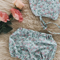 PEONIES BONNET & BLOOMER set, Easter Meadow collection