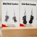 DANGLE Earrings - Trophies, Crutches, Scissors, Binoculars, Saws, Flask