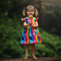 Colour Pop Party Dress