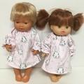 Miniland, Minikane  and Kmart Twin dolls Dolls Easter  Nightie to fit 38cm Dolls
