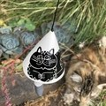 Cat 🐈 Garden bell/ wind chime