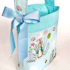 Unique Easter Egg Basket - Peter Rabbit